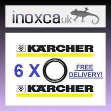 6 x KARCHER HD HDS-SCHLAUCHTÜLLE JET LANZE ERSATZ O-RING-DICHTUNGEN O-RINGE O