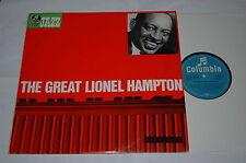 LP/THE GREAT LIONEL HAMPTON/JAZZ Columbia C 83405