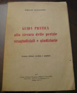 Aimable (prl) Antique Book 1953 Libro Antico Guida Pratica Alla Stesura Perizie Vintage