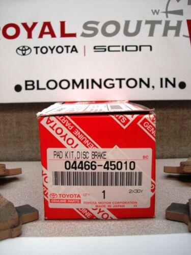 Toyota Sienna Rear Brake Pads Set Genuine OE OEM