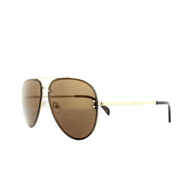 d23e5d5e4a68 Celine Mirror CL 41391 J5g LC Gold Metal Aviator Sunglasses for sale ...