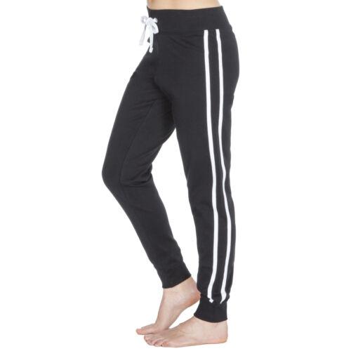 Ladies Elasticated Waist Cotton Tracksuit Sport Jog Jogging Gym Bottoms 10-24