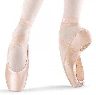 Bloch Axiom Stretch #S0177L Axi-Stretch Pointe Shoes 3.5-8 1X, 2X, 3X NIB