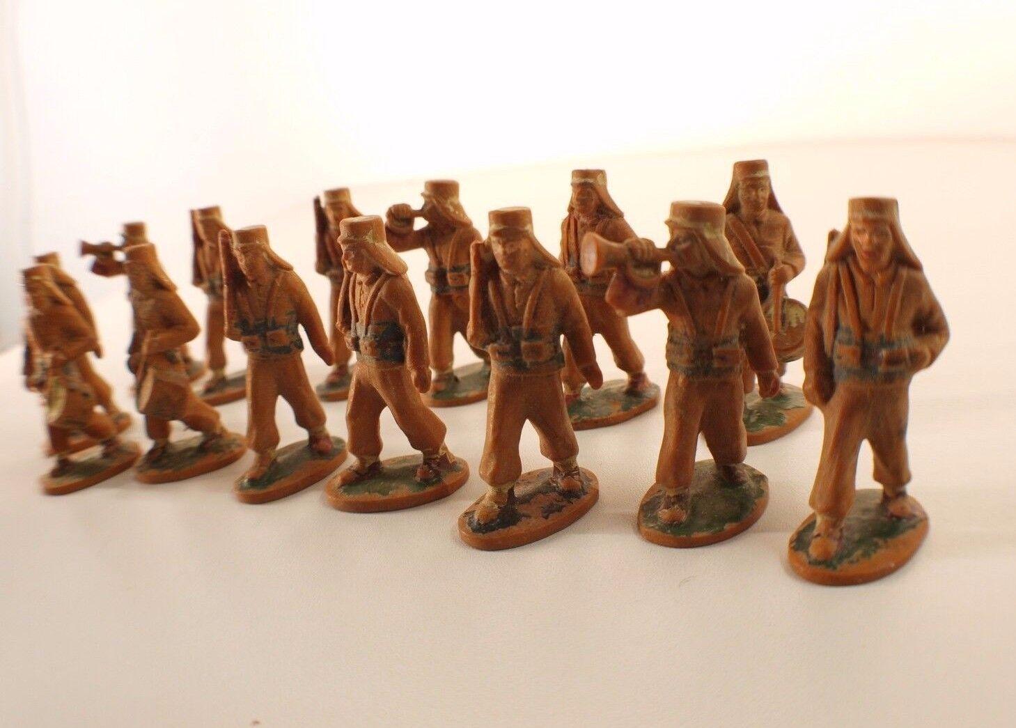 Estrellalux Lote 14 Soldados Legionario con Cubierta Cuello 1ª Tipo Rave 1948 Raro