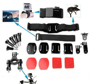 20-In1-Outdoor-Kit-Set-Head-Bicycle-Holder-Accessory-For-GoPro1-2-3-4-Camera-HOT