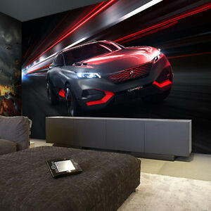 Ordinaire Image Is Loading 3D Sitting Room The Bedroom Sports Car TV