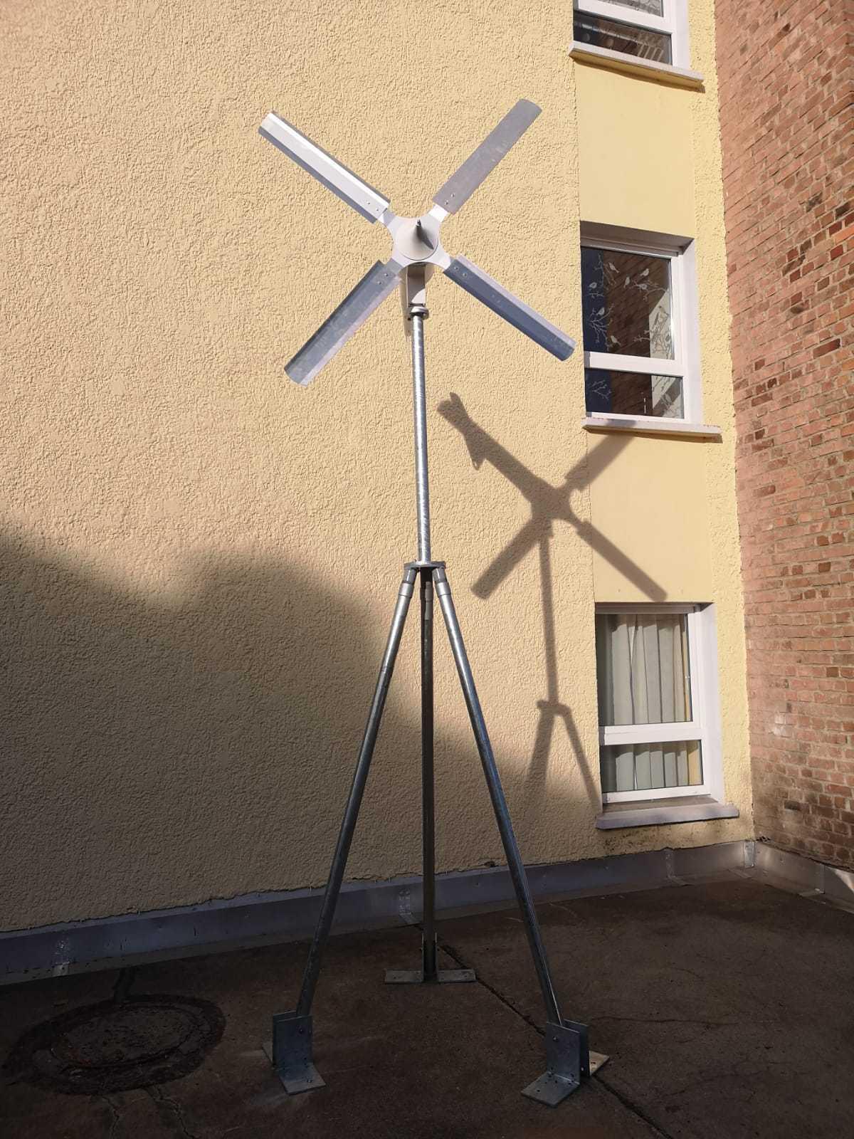 Mast Dreibein Variante 4 Windkraftanlage Windanlage Windgenerator Windkraft