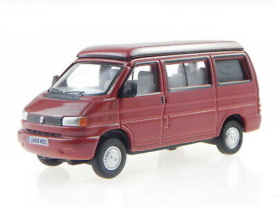 VW T4a California Westfalia Camper paprika rot Modellauto Oxford 1:76