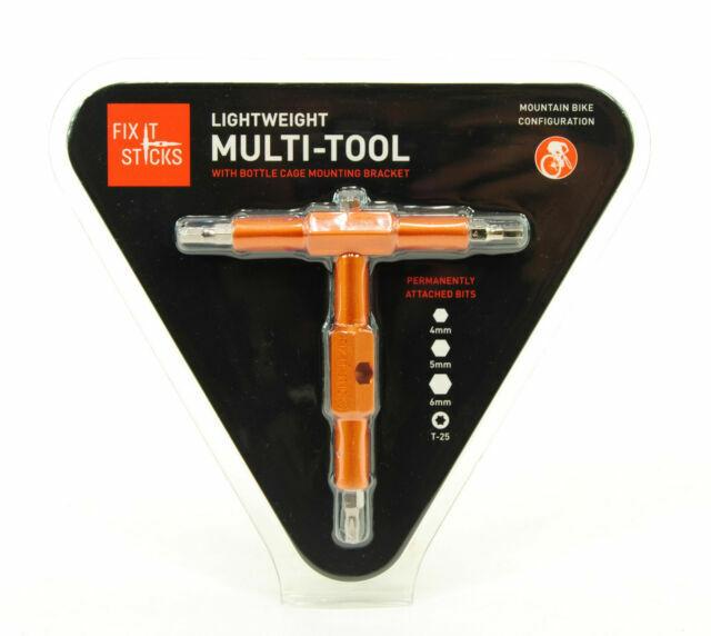 Fix It Sticks Bike Multi Tools 4-5-6 mm Hex and T25 Torx