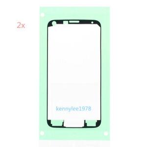 2x-For-Samsung-Galaxy-S5-G900F-s5-G901F-Pre-Cut-LCD-Screen-Adhesive-Glue-Sticker