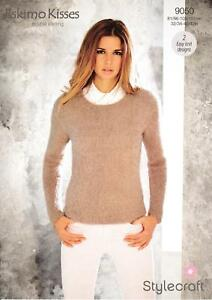 "Stylecraft Knitting Pattern 8507 Wrap Over Collared Sweater DK Ladies 32-42/"" NEW"