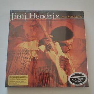 Jimi Hendrix Live At Woodstock Ltd Edition Box 3lps
