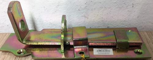 # 5x Kellerriegel 160 mm Metall Türriegel Schlossriegel für Vorhängeschloss H