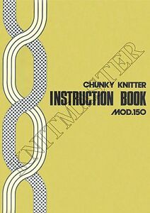 Instruction-Manual-150-Chunky-Knitmaster-Knitting-Machine