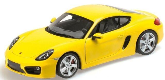 - MNC110062220 - Voiture sportive PORSCHE Caymande  2013 couleur jaune