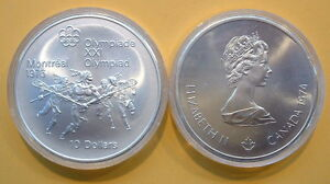CANADA-1976-OLYMPIC-10-SILVER-COIN-No-9