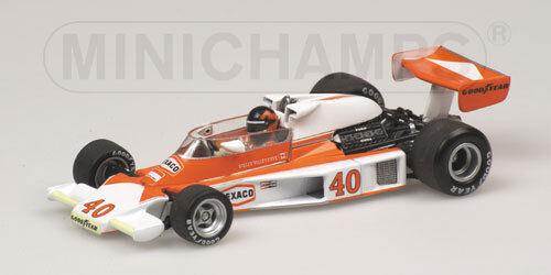 McLaren Ford M23 G. Villeneuve British GP 1977