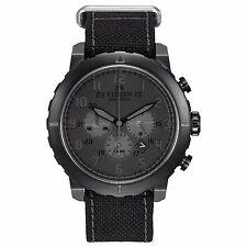 Citizen Eco-Drive Men's CA4098-06E Chronograph Black Military Style 45mm Watch