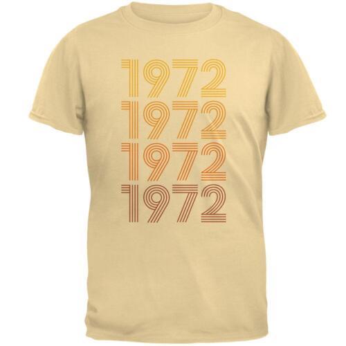 Retro Vintage Flashback Paralines Birthday 1972 Mens T Shirt