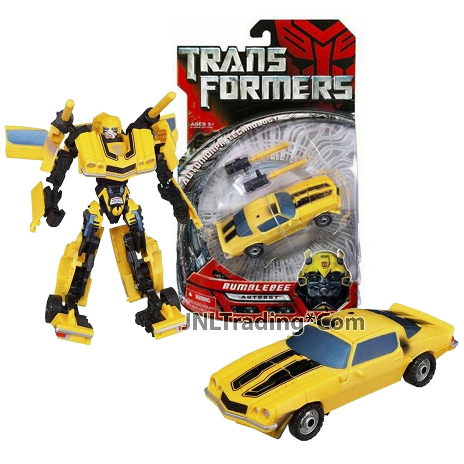 2006 Year Hasbro Transformers 1st Film Serie Deluxe classeE 6 Autobot Bumblebee