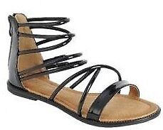 Women/'s Roman Gladiator Slider Ankle Straps Flat Sandals Shoes Size 5-10