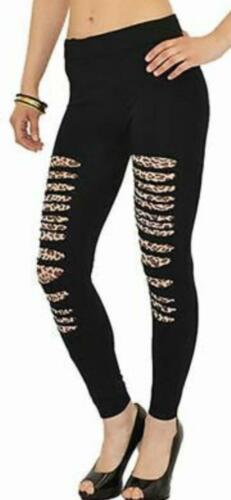 Donna Catena 2 Bottoni Tasche Con Zip Pantaloni in Denim Elasticizzato da Donna Jeggings Leggings