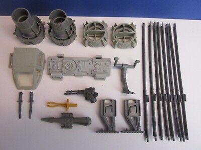 VINTAGE STAR WARS Y-WING FIGHTER PARTS KENNER strut chin gun motor gear part lot