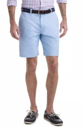 "NWT Vineyard Vines Men/'s 9"" Stretch Breaker Shorts Size 38 NWT Blue Cotton 36"