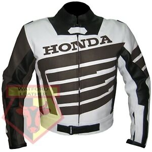 HONDA-9019-BROWN-MOTORBIKE-MOTORCYCLE-BIKERS-COWHIDE-LEATHER-ARMOURED-JACKET