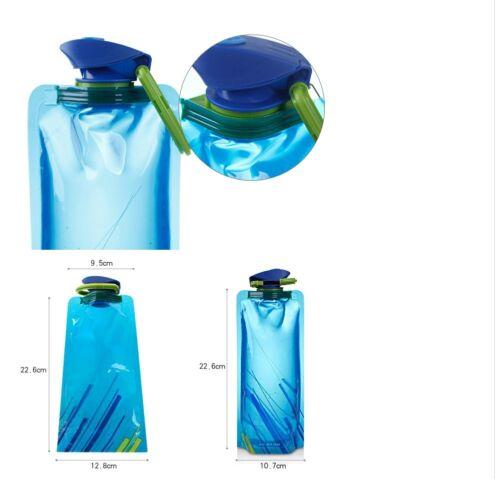 Vapur Blue Anti-bottle Hiking Sports Convenient Bike 700ml Bottle with Hook