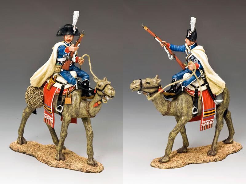 King & Country Napoleon in Ägypten NE028 Französisch Kamel Cavilier mit Musketen