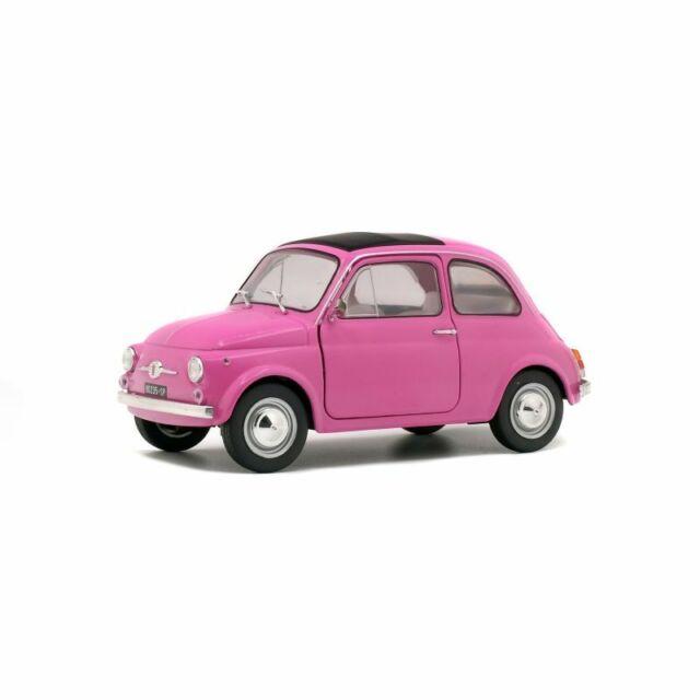 Solido Soli1801402 Fiat 500 Orange Rose 1/18