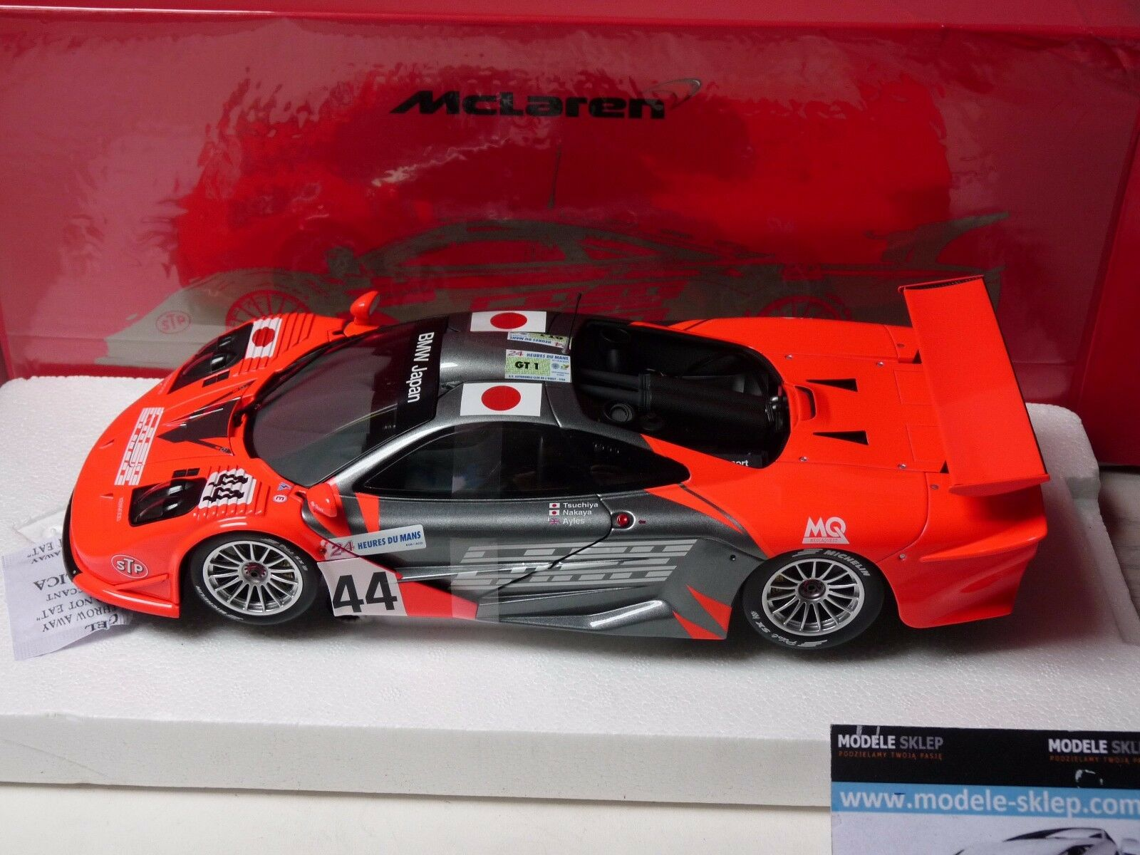 1997 MCLAREN F1 GTR a LARK squadra BMW Giappone 24H LE uomoS   44 1 18 Minichamps
