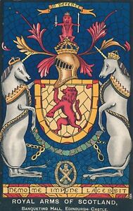 EDINBURGH-Edinburgh-Castle-Banqueting-Hall-Royal-Arms-of-Scotland