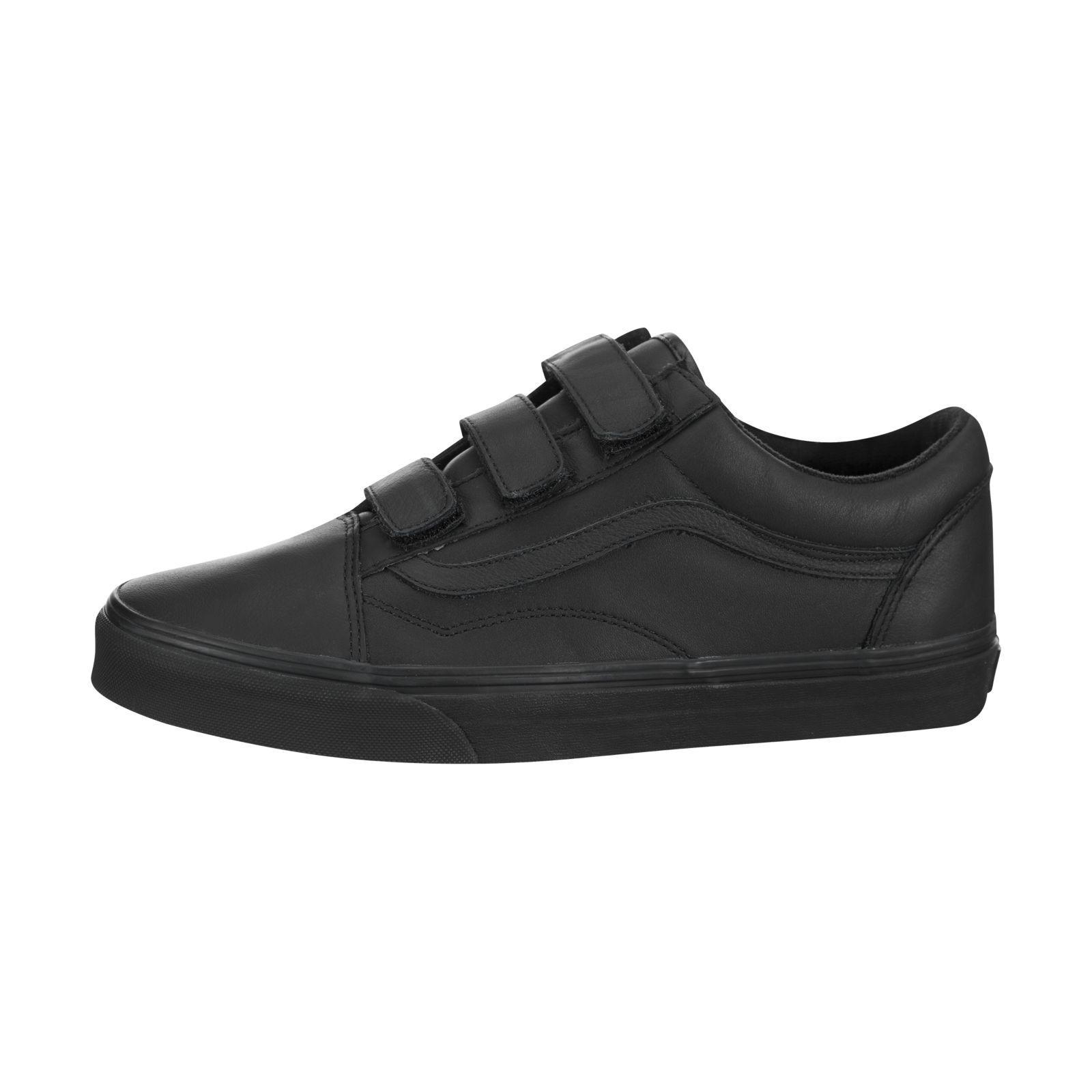 Vans Old Skool Velcro (Mono Leather)