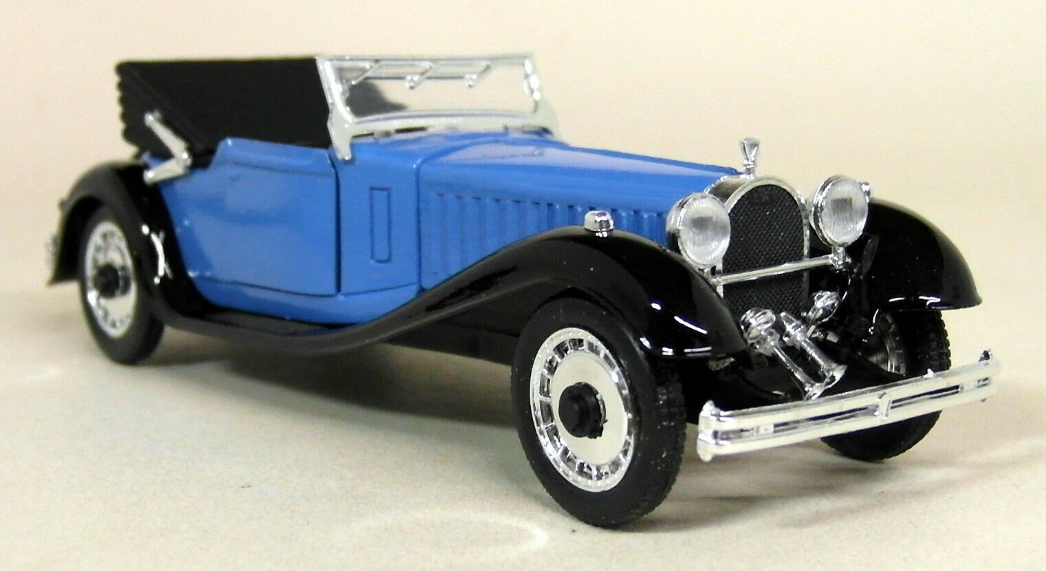 Rio 1 43 Scale - 37 1927 Bugatti Bugatti Bugatti Royale Mod 41 Scoperta bluee Diecast model Car 68ccf0