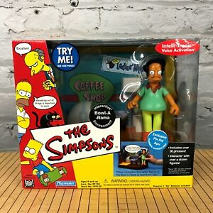 The Simpsons INTERACTIVE BOWL-A-RAMA ENVIRONMENT with APU Playmates 2001