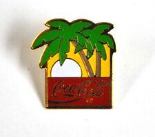 Coca cola Coca cola USA Con risvolto Pin Pulsante Stemma Spilla - Palme Tramonto