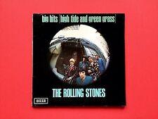 ROLLING STONES LP Big Hits High Tide Green Grass 1966 VINYL TXS 101 DECCA Rot 60