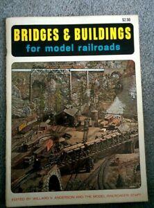 '65 Bridges & Buildings Scratch Building Model Railroad Structures HO Scale Book