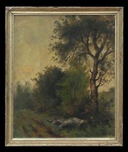 Charles-Fauchier-1887-1965-Landschaft-Georges-Sand-Harpignies-der-Chatre