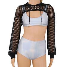 5f331a1c4d item 1 Womens Long Sleeve See Through Mesh Fish Net Crop Top Hooded Hoodies  Sweatshirts -Womens Long Sleeve See Through Mesh Fish Net Crop Top Hooded  ...
