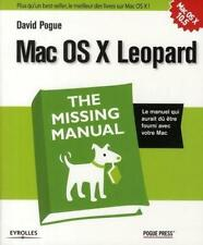MAC OS X leopard Pogue David Livre Neuf