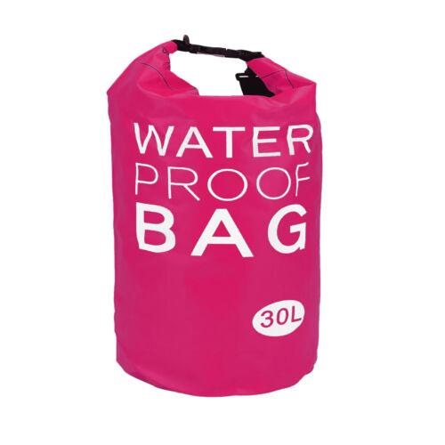 Dry Bag Wasserdichte Tasche 30L Trockentasche Camping Reise Survival Bag Seesack