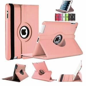 In-Pelle-Rotazione-A-360-Gradi-Smart-Stand-Case-Cover-per-tutti-i-modelli-iPad