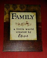 FAMILY A Little World Created By LOVE Wall Art Jennifer Pugh  Sagebrush Fine Art