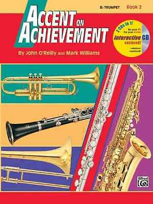 Alfred Publishing Co Instruction Books, Cds & Video 0739004638 Accent On Achievement Volume2 Bb Trumpet Nourishing Blood And Adjusting Spirit