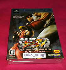 SUPER STREET FIGHTER IV EDITION LIMITEE COLLECTOR SONY PS3 JAPAN MINT CONDITION
