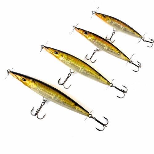 Sea Fishing Pencil Lures 12g-35g Long Cast Baits Saltwater Mackerel Pollock Bass