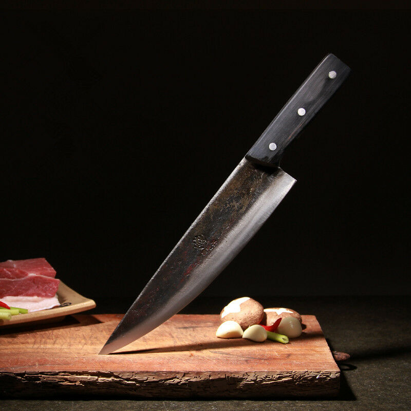 180mm Blade Metal Forged Handmade Steel Chef Boning Knife Split Butcher Meat Cut